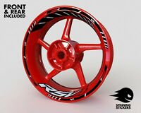 """Wheel Stickers for Aprilia RSV4 Factory Rim Tape Motorcycle Decals Graphics 17"""""""