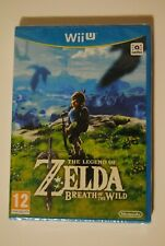 ZELDA BREATH OF THE WILD CONSOLE NINTENDO WII U NEW NEUF SCELLE