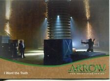 Arrow Season 1 Bronze Parallel Base Card #31 I Want the Truth