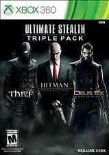 Ultimate Stealth Triple Pack (Microsoft Xbox 360, 2015)