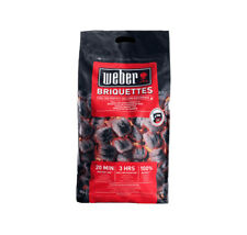 WEBER Briquettes 8KG -Quick Despatch. Great BBQ Charcoal