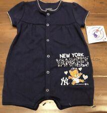MLB New York Yankess Infant Baby Girl Romper 3/6m