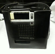 PHILCO Ford Company solid state vintage Tape cassette recorder A6026BK RARE!!