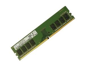8GB Samsung RAM 2400 Mhz DIMM Non ECC PC4-2400T-U PC4-19200 f PC / Desktop