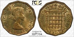 1965 3D PCGS MS 63 GREAT BRITAIN S-4153 HIGH GRADE