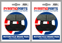 Front Brake Pads (2 Pairs) for Honda VFR 750 F 86-87