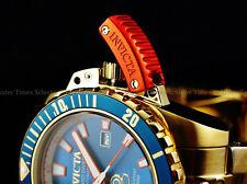 Invicta Men 48mm Azure Blue Grand Diver Automatic 18K GoldTone SS Bracelet Watch
