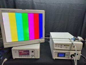 Stryker 1088 Laparoscopic Complete Console Light Source Monitor & Scope HD