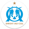 2 STICKERS Autocollant ANTI OM - Droit au cul | FOOT ULTRAS 8 x 8cm | (lot de 2)