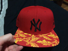 new era new york yankees nike supreme foamposite hat snapback strapback galaxy
