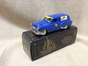 "Brooklin 1:43 1953 Pontiac Sedan Delivery ""Sunoco"" BRK 31B"