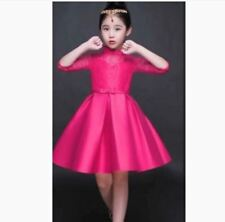 KIDS DRESS CINDERELLA -  FUCHSIA PINK