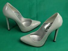 Stunning Lois Point Patent Grey, Killer Stiletto Heels!  By Schuh ,Size EU,36