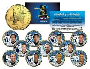 Derek Jeter 2009 YANKEE STADIUM INAUGURAL SEASON Quarters 11-Coin Set CHAMPIONS