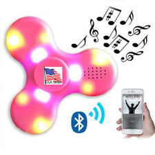 Bluetooth Speaker LED Lights Fidget Spinner Stress relieve AUTISM