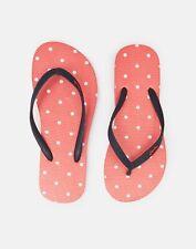 Joules 210699 Womenss Flip Flops - CORAL SPOT