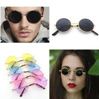John Lennon 60s 70s Hippie Round Sunglasses Retro Steampunk Shades Glasses