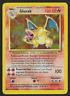 Pokemon GLURAK 4/102 Base Set Charizard German Holo Light Played