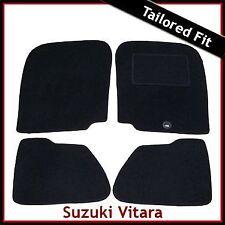 Suzuki Grand Vitara 3-Door Mk1 1998-2005 Tailored Fitted Carpet Car Mats BLACK
