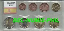 SPANJE 2020 - serie van 8 Munten/série de 8 Monnaies  - UNC!!!