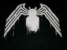 Venom Amazing Spider-Man Dripping White Black Costume T-shirt Men's 2XL Marvel