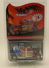 HOT WHEELS HWC Convoy Custom Limited/5597 Red Line Club Red White Blue