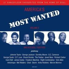 AMERICA'S MOST WANTED VOLUME 2 Various NEW & SEALED MODERN SOUL CD (GRAPEVINE)