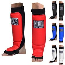 Contender MMA Grappling Shin Guards Kickboxing Muay Thai Training Youth or Adult
