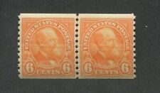 1932 United States Postage Stamp #723 Mint Never Hinged F/VF OG Joint Line Pair