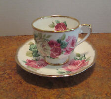 Roslyn Fine Bone China Melody Rose Cup & Saucer England