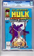 Incredible Hulk #367 CGC 9.6 WP 1st Keown Art..Incredible Hulk..Countdown Part 4