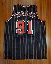 Dennis Rodman Autographed Signed Jersey Chicago Bulls JSA