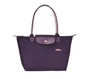 PRE ORDER Authentic Longchamp Le Pliage Club Tote Bag Small Bilberry