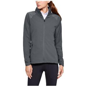 Under Armour Ladies Storm Windstrike Full Zip Jacket UA Lightweight Windproof