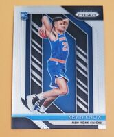 2018-19 Panini Prizm #217 Kevin Knox RC New York Knicks