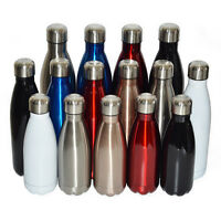 Vacuum Flask Double Wall Stainless Steel Insulated Water Bottle Coffee Drinks
