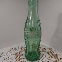 """Vintage Coke Cola Bottle Green 6-1/2 oz Size """"Boston Mass""""  Mint"""