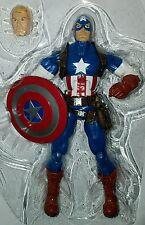 "Marvel Legends CAPTAIN AMERICA 6"" Figure Steve Rogers Bucky Infinite Series"