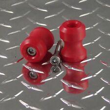8mm RED Swingarm Spools GSXR GSX-R TL1000R SV1000 CBR 600RR 10000RR RC51 954 675