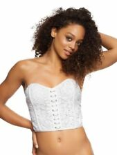 Lace Floral Basques & Corsets for Women
