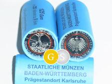 Rolle Roll 25 x 5 Euro BU Subtropische Zone BRD 2018 Germany - G - Karlsruhe