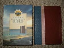 NEW Beyond Suffering Bible Joni Eareckson Tada NLT Version Teal Brown Rose Cover