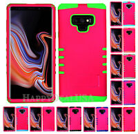 For Samsung Galaxy Note 9 - KoolKase Hybrid ShockProof Cover Case - Hot Pink FL