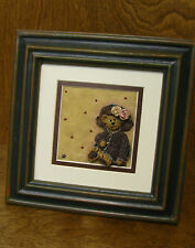"Boyds Accessories #370402 Mrs. Tuttle Framed Tile, Nib From Retail Store, 7""x7"""
