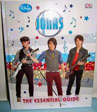 Disney Jonas - The Essential Guide (Hardback) - NEW