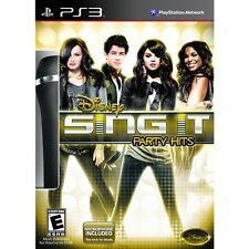 Disney Sing It Party Hits 2011 w/ Microphone PS3 New Sealed