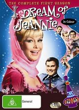 I Dream Of Jeannie : Season 1 BRAND NEW SEALED REGION 4 (DVD, 2006, 4-Disc Set)
