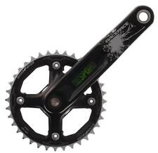 RaceFace Respond Single 36T 175mm Chainset & DH Bottom Bracket - Black -  NEW