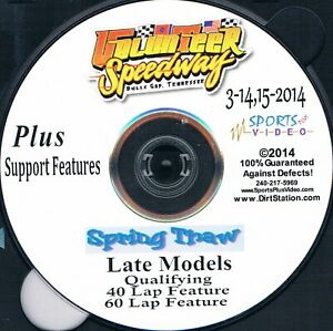 Late Models Spring Thaw DVD From Volunteer Speedway 3-14+15-2014