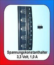 5 x Spannungsregler 3,3 Volt, 1,0 A Waggonbeleuchtung Spannungsbegrenzer
